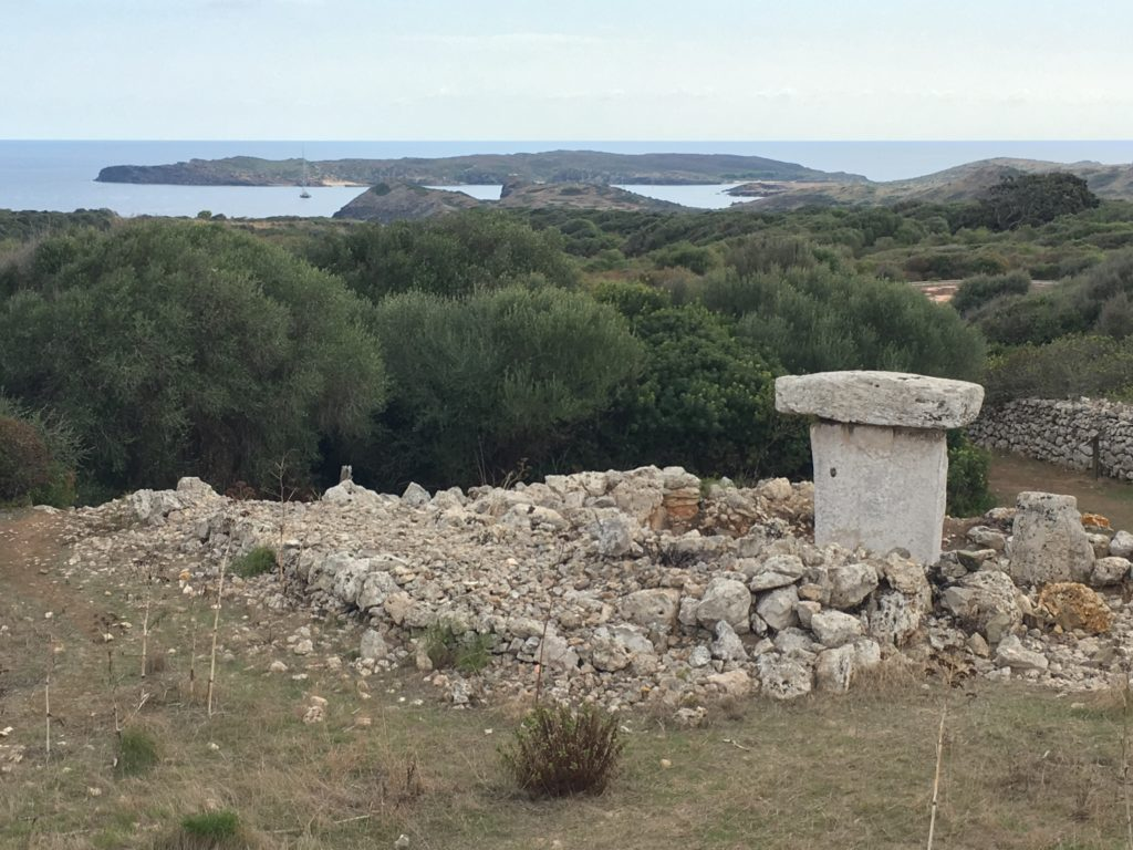 Ancient Talayotic settlement in Mallorca
