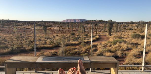 See the glory of Uluru – from your bed